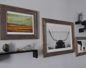 Rustic Reclaimed Barnwood Custom Frame