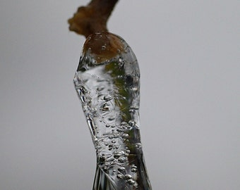 Ice tear-instant download-image gallery drop of ice water on branch