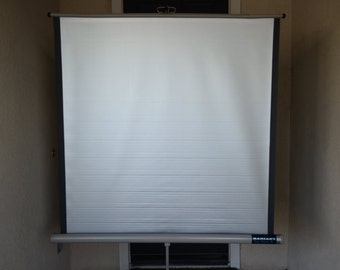 Vintage Projector Screen Radiant Super Champion II