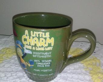 SALE!!! SALE!!! *Disney's A Little Charm Goes A Long way* Mini Mentor coffee mug*