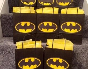 Batman Party Bags