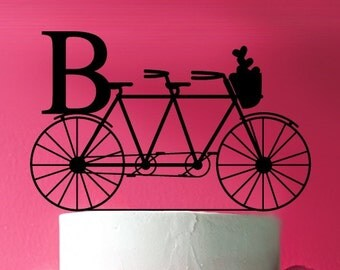 Tandem Bicycle Cake Topper  (MIC-FJM9198738)