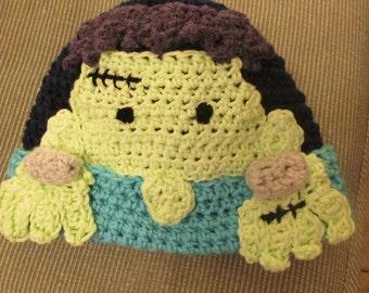 Monster Hat- Frankenstein!!!!!