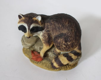 Vintage Lefton Raccoon