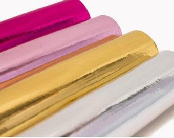 Metallic Felt, Pink Metallic Felt, Silver Felt, Metallic Craft Supplies, Gold Felt, 21cm x 30cm