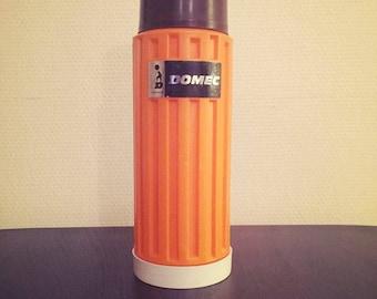 Thermos Domec orange 70s - Vintage
