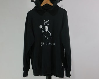 Basquiat Sweatshirt Large Basquiat Hoodie Basquiat Sweater Basquiat Pullover Jack Johnson