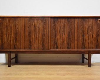 Mid-Century Rosewood Danish Modern Credenza