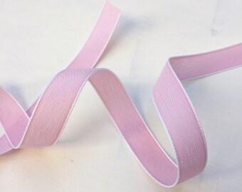 Pale Pink Denim Style Ribbon
