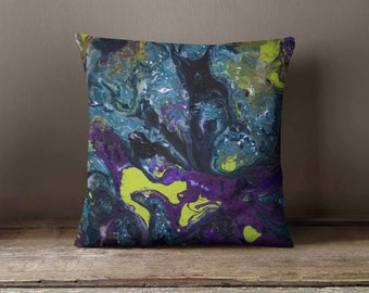 Abstract Oil Painting Pillowcase | Decorative Throw Pillow Cover | Cushion Case | Designer Pillow Case | Birthday Gift Idea For Him & Her