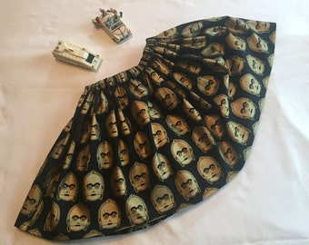 Disney Star Wars C-3PO skirt