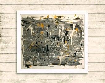 Unique Abstract Contempoary Canvas 60x46cm