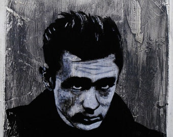 James Dean - Cool Wallpainting