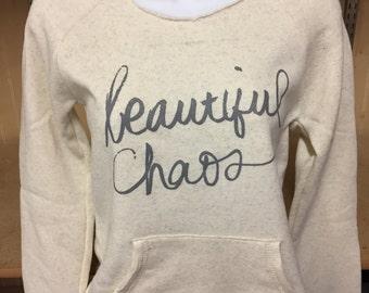 Beautiful Chaos Fleece Sweatshirt