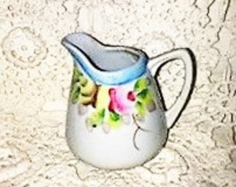 Gloria Nippon Hand Painted Small Creamer Vintage