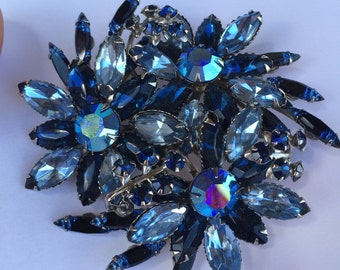 Something Blue Brooch