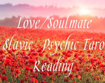 Love Psychic Tarot Reading - 5 questions