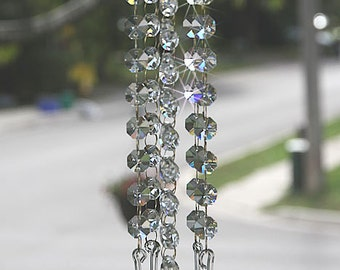 "Crystal Suncatcher ""Itsy"" Smaller Size for Sunny Window Spots or your Favorite Window"