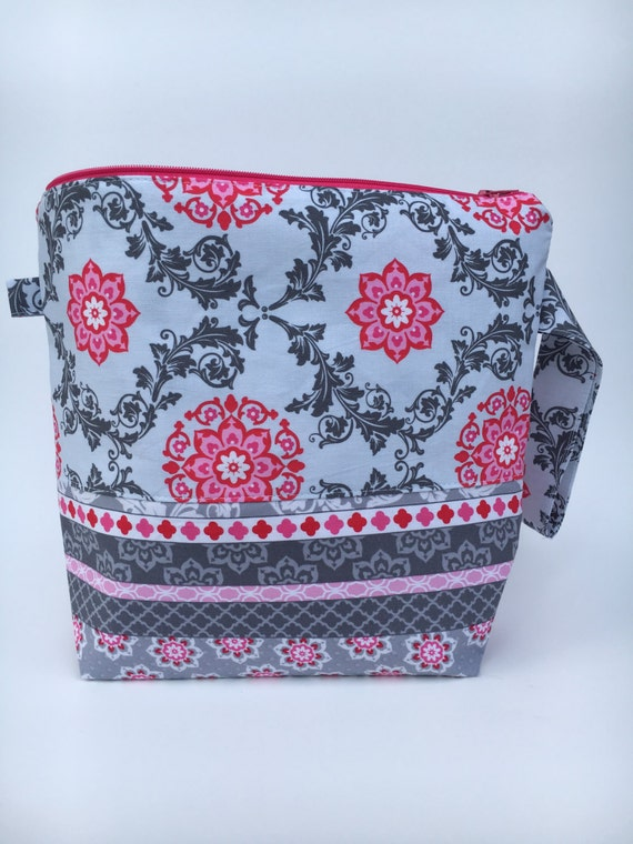 Zippered Knitting Bag : Zippered knitting project bag