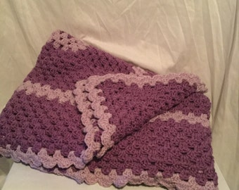 Free Shipping Purple Nap Time Throw