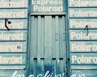 """Postcard """"Knockin"""