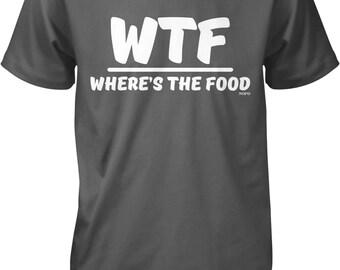 WTF, Where's The Food Men's T-shirt, NOFO_00629