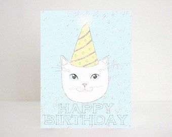 Happy Birthday- cat happy birthday urban outfitters home style