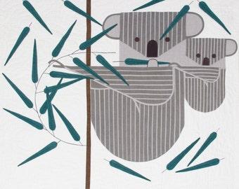 KOALAkoala Charley Harper Quilt Pattern