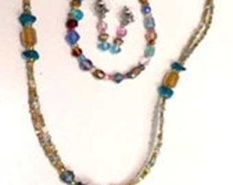 Springg Sale, Necklace, Bracelet and Earring Set