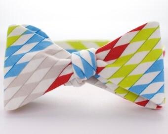 BOW TIE | baby, toddler, & boys | self-tie | stripes