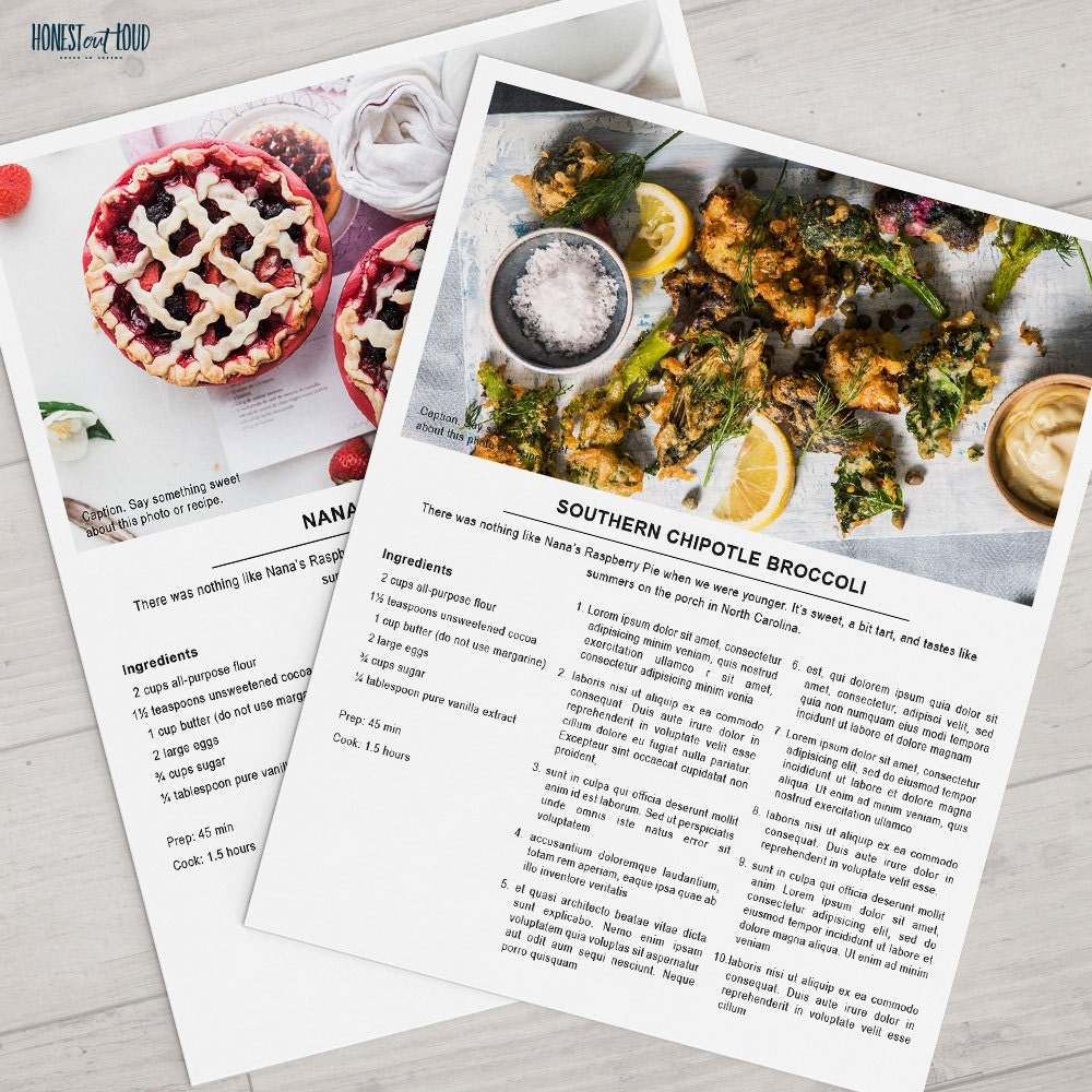 It's just a graphic of Invaluable Free Printable Recipes