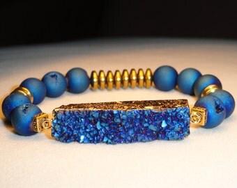 Blue Meteor Bracelet