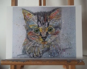 Kitten Artwork Print