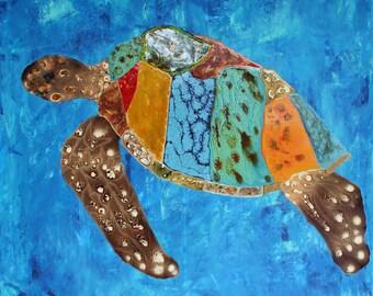 Soulful Sea Turtle