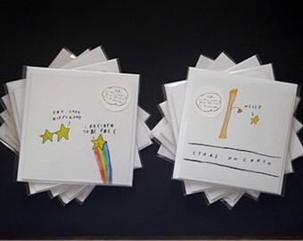 Ten encouragement cards