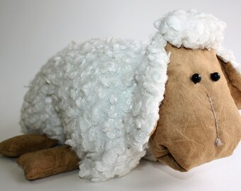 Sheep Plush Toy Pillow