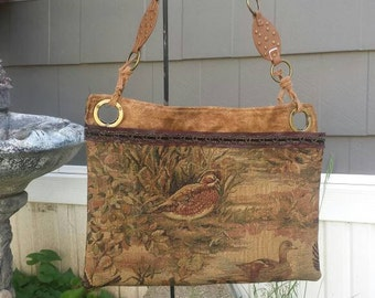 OoaK Tapestry shoulder bag