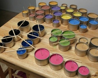 8 ounce Mix & Match All Natural Soy Candles