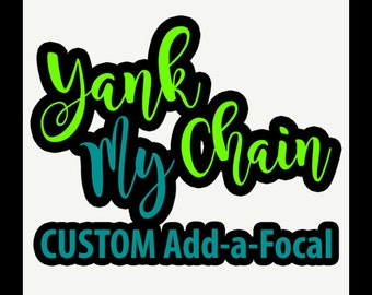 Custom Add-a-Focal Fan Pulls - You Choose Your Fan Pull or Light Pull Focal, we create it for you.