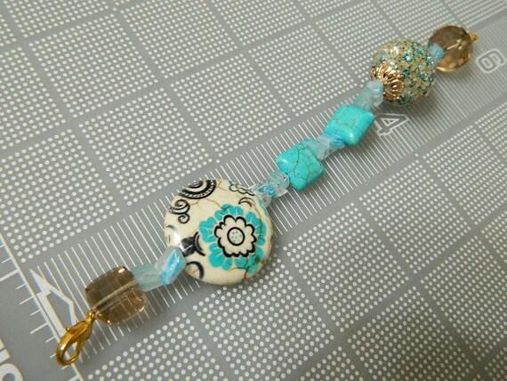 Blue Dreams Fan Pull Decorative Pull Chain Light By