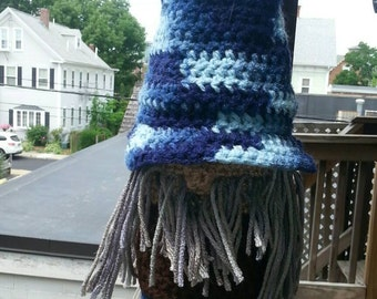 Wizard Wine Bottle Cozy With Hat