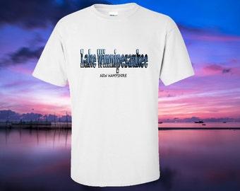 Lake Winnipesaukee tshirt - NH Souvenir