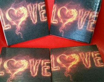Love Fire Coasters
