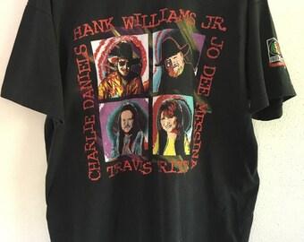 Hank Williams Jr. Tour T-Shirt