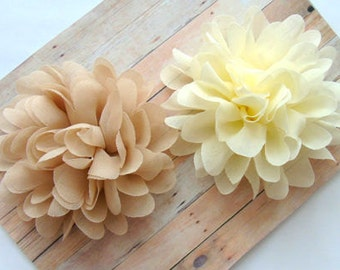 TWO Baby Hair Clips, Hair Clips, Flower Hair Clips, Girls Hair Clips, Baby Hair Accessories, Toddler Hair Clips, Kids Hair Clips