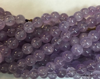 8mm cape amethyst beads