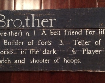 Brother sign