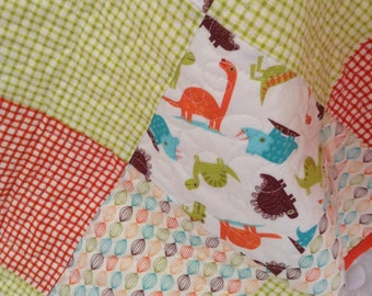 Baby Quilt - Dinosaurs!