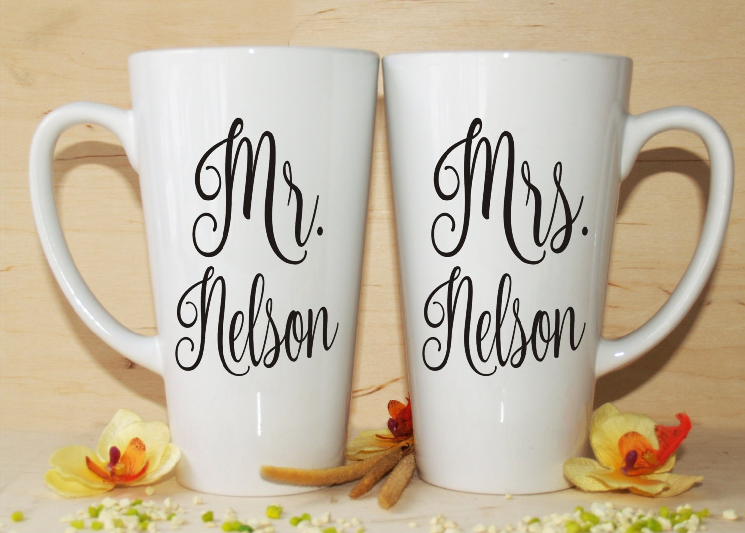 Wedding Gift Mugs Suggestions : Mr Mrs mug-Bridal shower gift-Wedding mugs-Anniversary gift-Mr