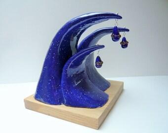 Sculpture waves ceramic